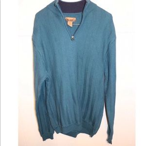 Outdoor men's sweater size large